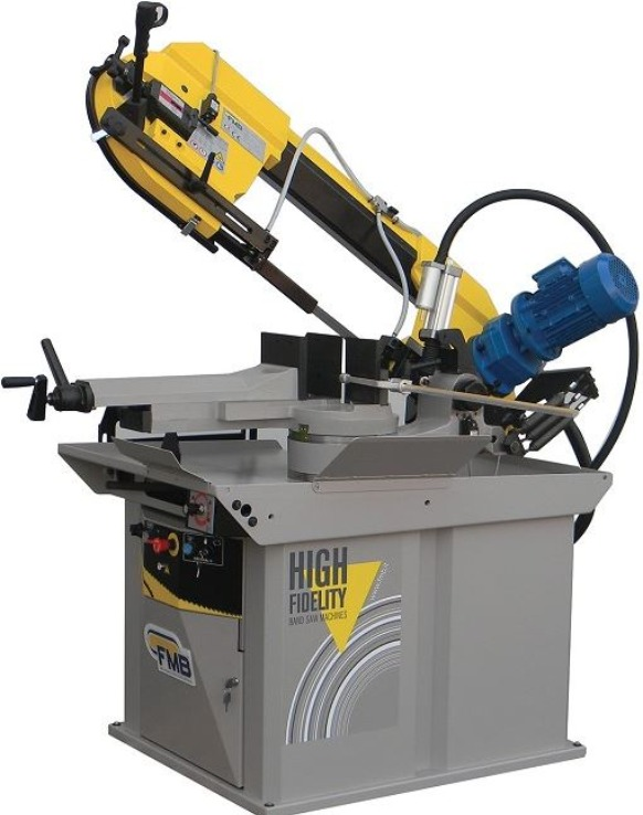 "FMB Titan's large 14"" capacity and rugged, variable speed saw drive, allow FMB Titan Band Saw to cut a wide range of material effeciently and accurately. If you cut thin wall tubes, profiles as well as heavy steel sections and hard solid materials. FMB Titan is the saw for your shop."