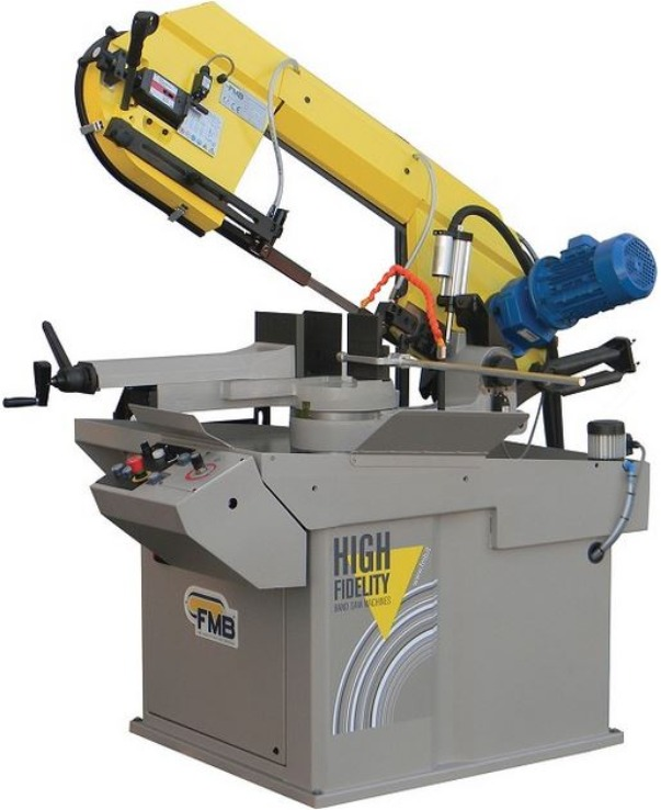 FMB Mercury Gravity Feed, Variable Speed Horizontal Band Saw