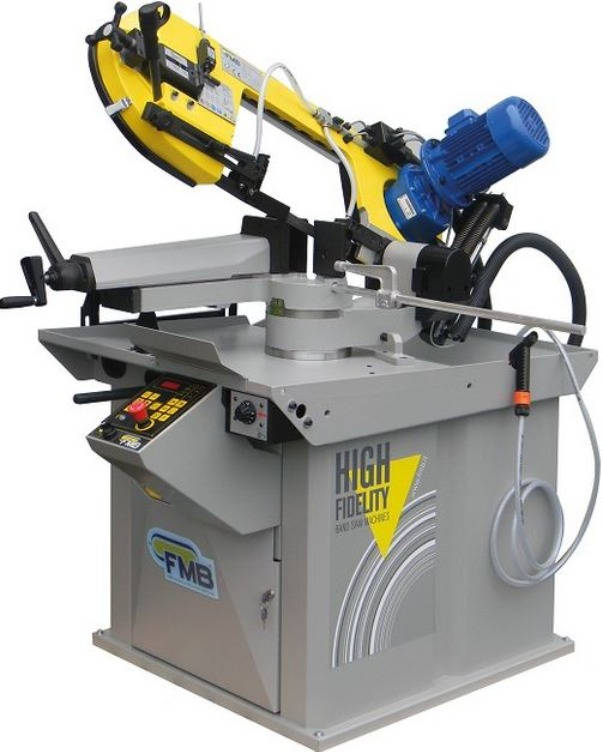 FMB Centauro with Positive Hydraulic Cutting Pressure for cutting a wide range of material, including stainless and tool steels with Infinitely Variable Blade Speed.