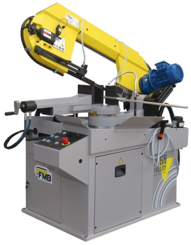 FMB Mercury Semi Automatic, Single Miter to 60 Degree Cutting Band Saw