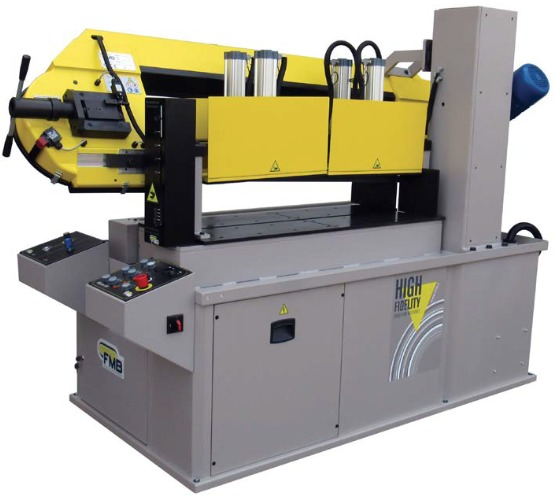 Semi-Automatic Steel Bar Grating Saw - FMB Pluton