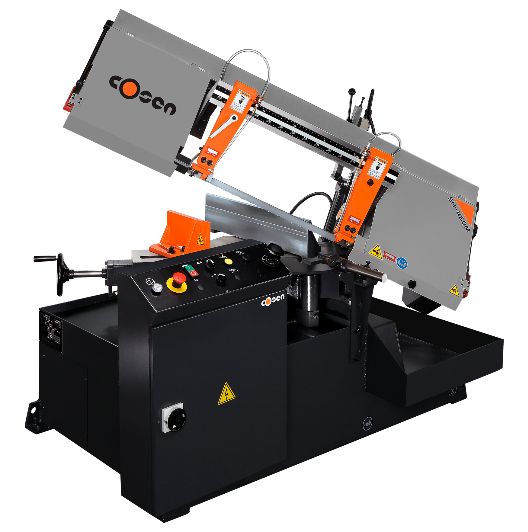 Horizontal Miter Cutting Band Saw Machine, Semi-Auto, Cosen SH-460M
