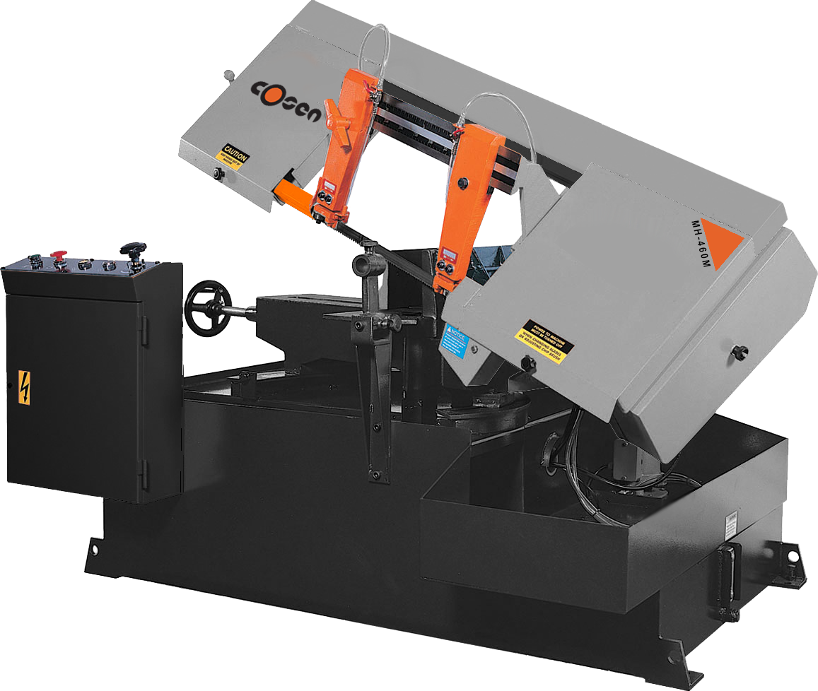Manual Operated Mitering Band Saw Cosen MH-460M | Industry Saw & Machinery Sales
