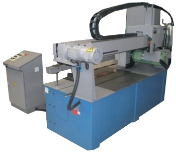Circular Friction Sawing of steel gratings fast and precise Trennjaeger Saws