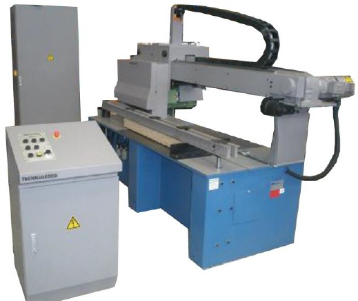 Friciton Saw Blades for cutting bar grating for use on Trennjaeger