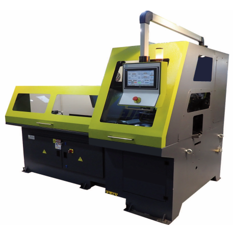 Touch screen control for programming automatic cold saw model VCT 370 DG CNC