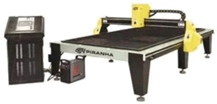 Piranha Series of Plasma Tables CNC | HD| 4'x4' Cutting Area to 5'x10' Cutting Area Priced Competitively